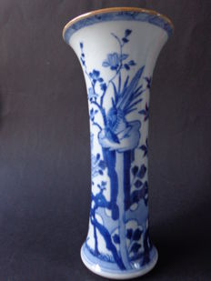 Vase with Bird, Kangxi period - China - 18th century