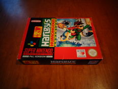 "Super Nintendo ""Harley's Humongous Adventure"" Fully complete"