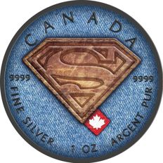 Canada - 5 Dollars 2016 'Superman Jeans' - 1 oz silver