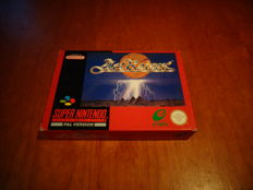 "Super Nintendo ""Actraiser"" Fully complete"