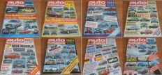 Eight yearbooks Auto Katalog 1980-1987 published by Auto Motor und Sport