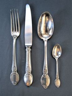 Christofle - antique cutlery - around 1900 - 4 pieces - good condition