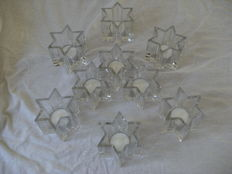 Judaica, Lead Crystal David Star, New.