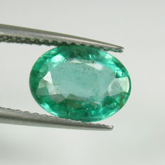 Emerald - 1.96 Ct - No Reserve Price
