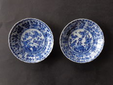Two flower dishes, Kangxi, 18th century, China