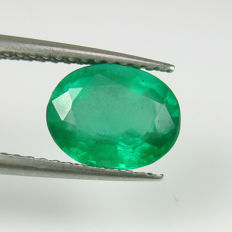 1.81 Ct - Emerald - Reserve Price No