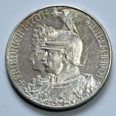 Prussia – 2 Mark 1901 200 years of the kingdom