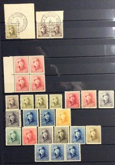 Belgium – stamps and Belgian postal stationeries, the 19th and 20th century, railway and Maxicards