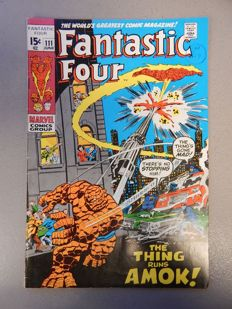 Marvel Comics - Fantastic Four #111 - 1x sc - (1971)