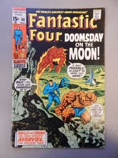 Marvel Comics - Fantastic Four #98 - 1x sc - (1970)