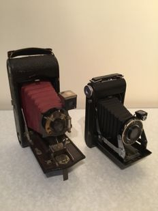 Kodak Vigilant Junior Six20 en No1A Folding Pocket Kodak Special model D