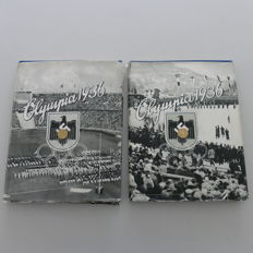 Olympia 1936 Volume 1 & 2 German Reich with Dust Jacket