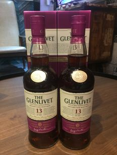 2 bottles of Glenlivet 13 Year Old Rare Oloroso Sherry Cask Taiwan Exclusive Edition