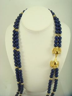Two vintage necklaces from the 1980s, signed KENNETH JAY LANE for AVON - No reserve