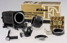 Nikon Balgen / Bellows II from 1959 & Nikon TC-200 & baffle ring E2