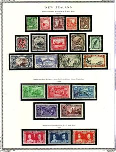 New Zealand 1932/1964 - Collection on Album Pages