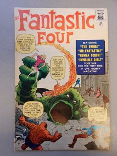 Marvel Comics - Fantastic Four #1c - Golden Record reprint without record - 1x sc - (1966)