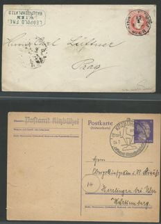 Austria - 1850-2005 - letters, cards and postal stationary