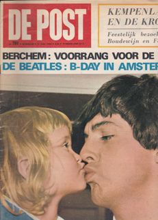 27 Music magazines with The Beatles or solos on fr.cvr + art.inside + pictures + posters.ins.all vg to nm cond.