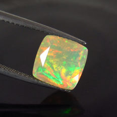 2.41 Ct - Faceted Opal - No Reserve Price