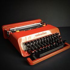 """Ettore Sottsass & Perry King for Olivetti – Typewriter """"Valentine"""""""