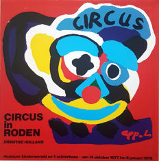 Karel Appel - Circus in Rhoden