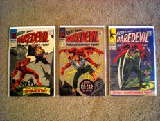 Marvel Comics - Daredevil Volume 1 - Issues 20, 24, 32 - X3 SC - (1966/1967)