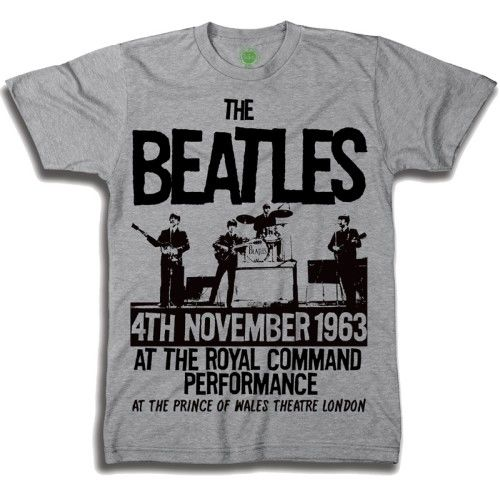 Three great Beatles Official Merchandise T shirts, still sealed in their original bags. All are size XXL.