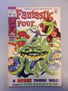 Marvel Comics - Fantastic Four #88 - 1x sc - (1969)