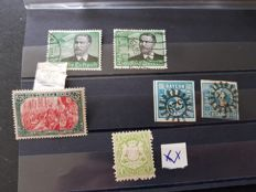 German Empire, 1850/1940 - old stated and occupied territories, mixed box.