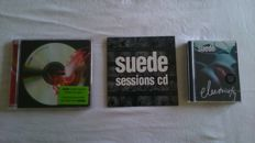 Suede collectors lot includes: Suede Sessions fanclub cd, Electricity 6 track minidisc (1st ever UK minidisc)  and 2cd A new Morning (limited edition set)
