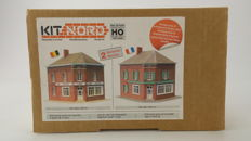 Kit Nord H0 - 871004 - Café du Nord, with 2 possible versions, French or Belgian