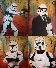 Chris Cleveland - Stormtrooper, Suited Stormtrooper, New Trooper en Scoutrooper