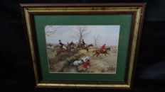 Oil Print - Horsemanship Painting Collection 1/10 - Signed