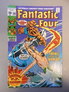 Marvel Comics - Fantastic Four #103 - First issue of Fantastic Four not drawn by Jack Kirby - 1x sc - (1970)