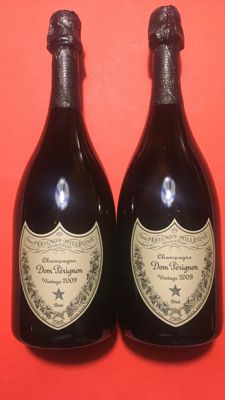 2009 Dom Pérignon brut vintage - 2 bottles (75cl) in presentation case