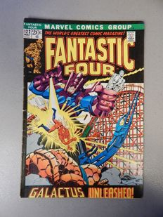 Marvel Comics - Fantastic Four #122 - 1x sc - (1972)