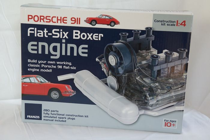 Porsche FLAT 6 Boxer engine - 1/4 scale - self-assembly kit - Franzis