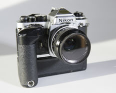 Nikon Fe2 with a Md12 motor and a Nikon 50 f/2 lens