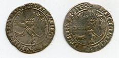 Old Germany - lot with 2 silver groschen, Wenceslaus II