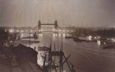 Unknown/ACME - River Thames, London, 1928/1929