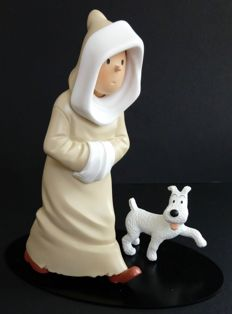 Hergé - Statuette Moulinsart 45938 - Tintin Oriental - Collection Nostalgie - (2005)