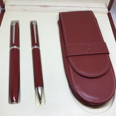 Collector's set, Caran d'Ache fountain pen and mechanical pencil, Mercedes-Benz Roadster 500K Limited Edition, 221/500