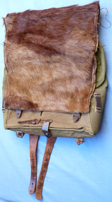 Original WW2 German Army Dated 1943 Backpack Tornister