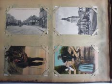 France Manche and Calvados - Album of 490 postcards early 1900s