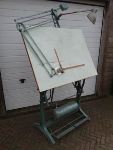 Vintage drafting table made by Nestler, Germany, 1960