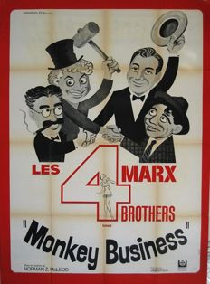 Xarrie - Monkey business (The Marx brothers, 1931) - 1962