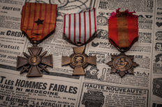 WWI French medals