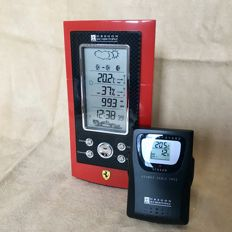NOS: Ferrari Monza weather station and (alarm) clock with Ferrari engine wake-up tone