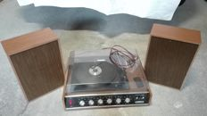 Audio system with plate and speakers - Reader's Digest sr 2000